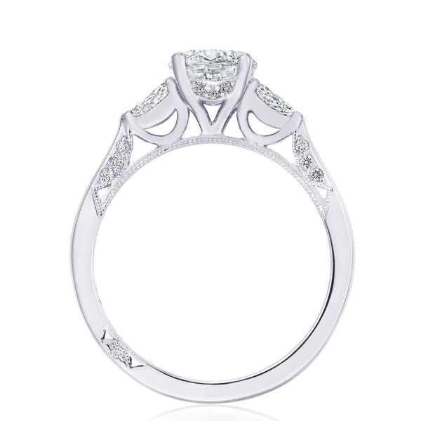 Tacori 'Simply Tacori' 18k White Gold Engagement Ring Round Semi-Mount