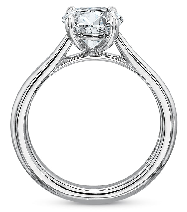 Precision Set New Aire Semi Mount Engagement Ring