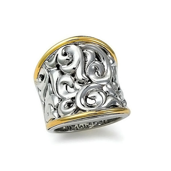 Charles Krypell Ivy Band Ring