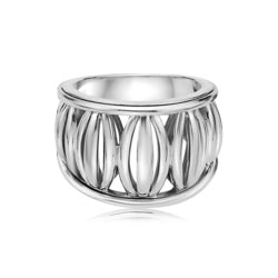 Charles Krypell Birdcage Banded Ring