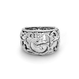 Charles Krypell Wide Ivy Lace Ring