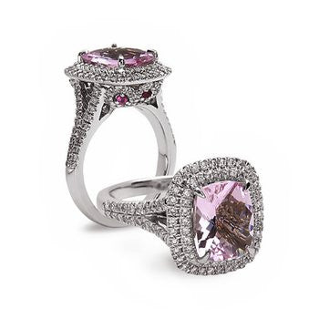 Charles Krypell Pastel Collection Morganite Ring