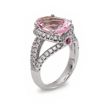 Charles Krypell Pastel Morganite Ring