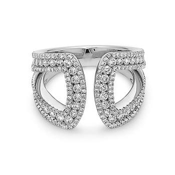 Charles Krypell Diamond U Ring