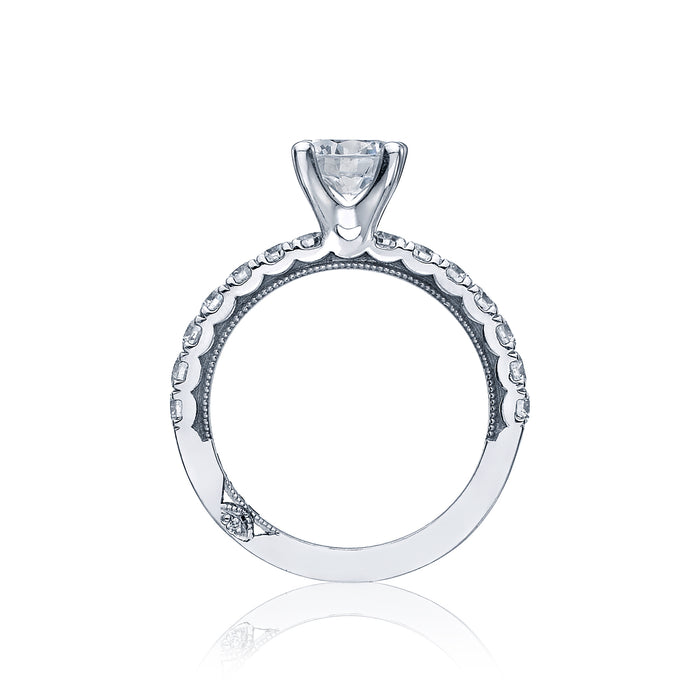 Tacori 'Clean Cresent' 7mm Round Engagement Ring
