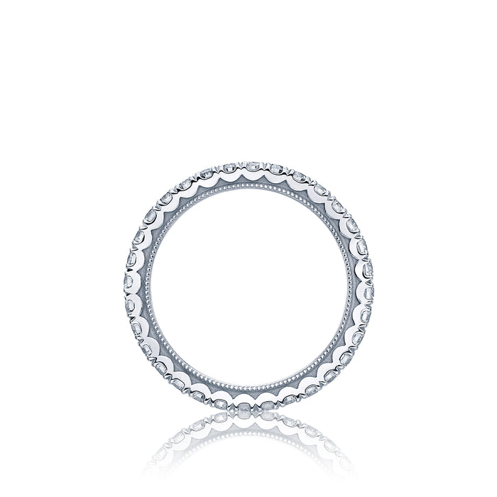 Tacori 'Clean Crescent' Eternity Wedding Band