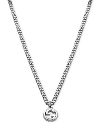 Gucci Interlocking G Curb Chain Necklace