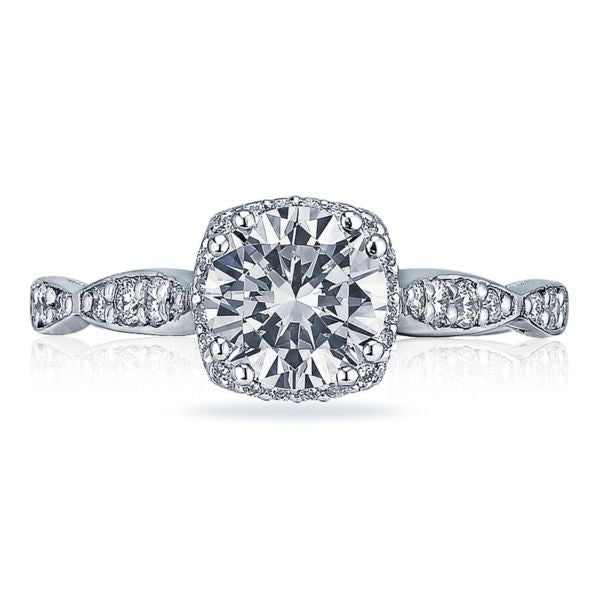 Tacori 'Dantela' Pave Bloom Engagement Ring