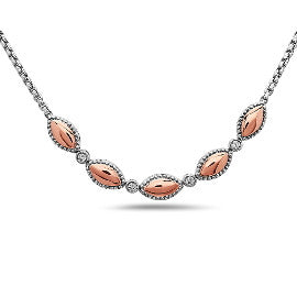 Charles Krypell Two Tone Firefly Necklace