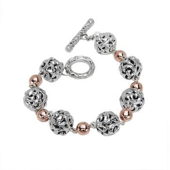 Charles Krypell Ivy and Micron Ball Bracelet