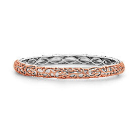 Charles Krypell Ivy Lace Two Tone Bracelet