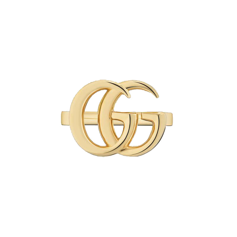 Gucci 18k Yellow Gold Running G Ring