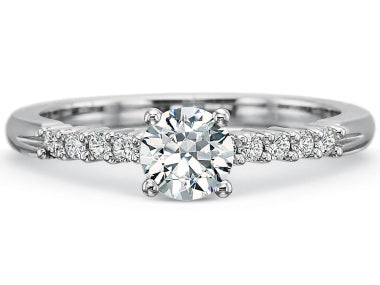 Precision Set Classic Semi Mount Engagement Ring