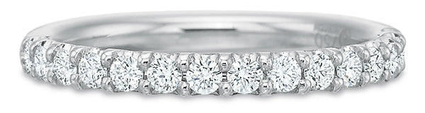 BLM Heritage Prong Set Wedding Band by Precision Set