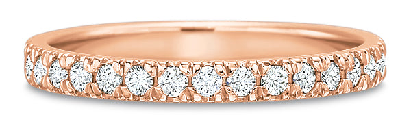 Precision Set 6294 14k Gold Wedding Band with Diamonds