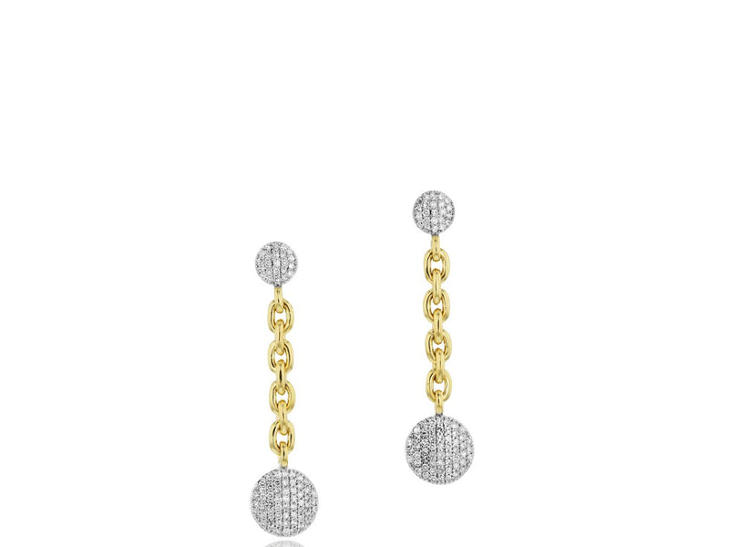 Phillips House Small Infinity Double Chain Earrings