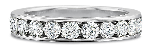 BLM Heritage Channel Set Wedding Band by Precision Set