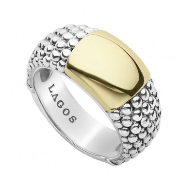 LAGOS Gold Caviar Ring