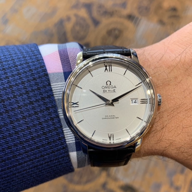 Pre-Owned Omega Deville with Silver Dial