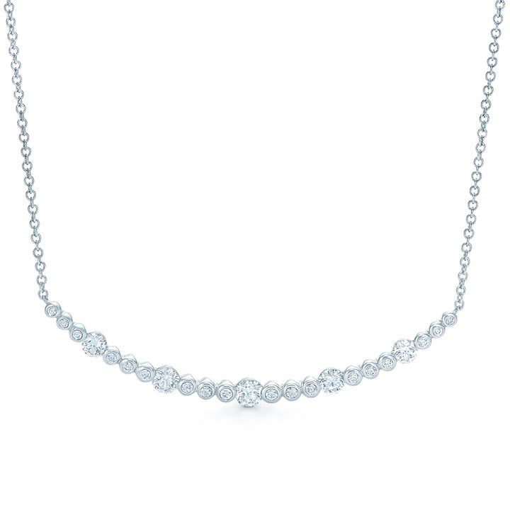 Kwiat Large Starry Night Diamond Pendant Necklace in 18k White Gold