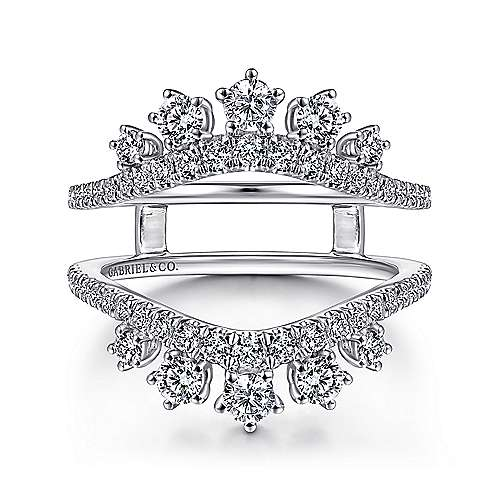 Gabriel & Co Starlight Diamond Enhancer Ring