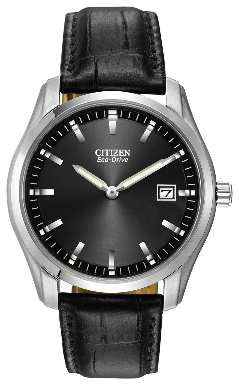 Citizen Corso 40mm Watch with Black Dial