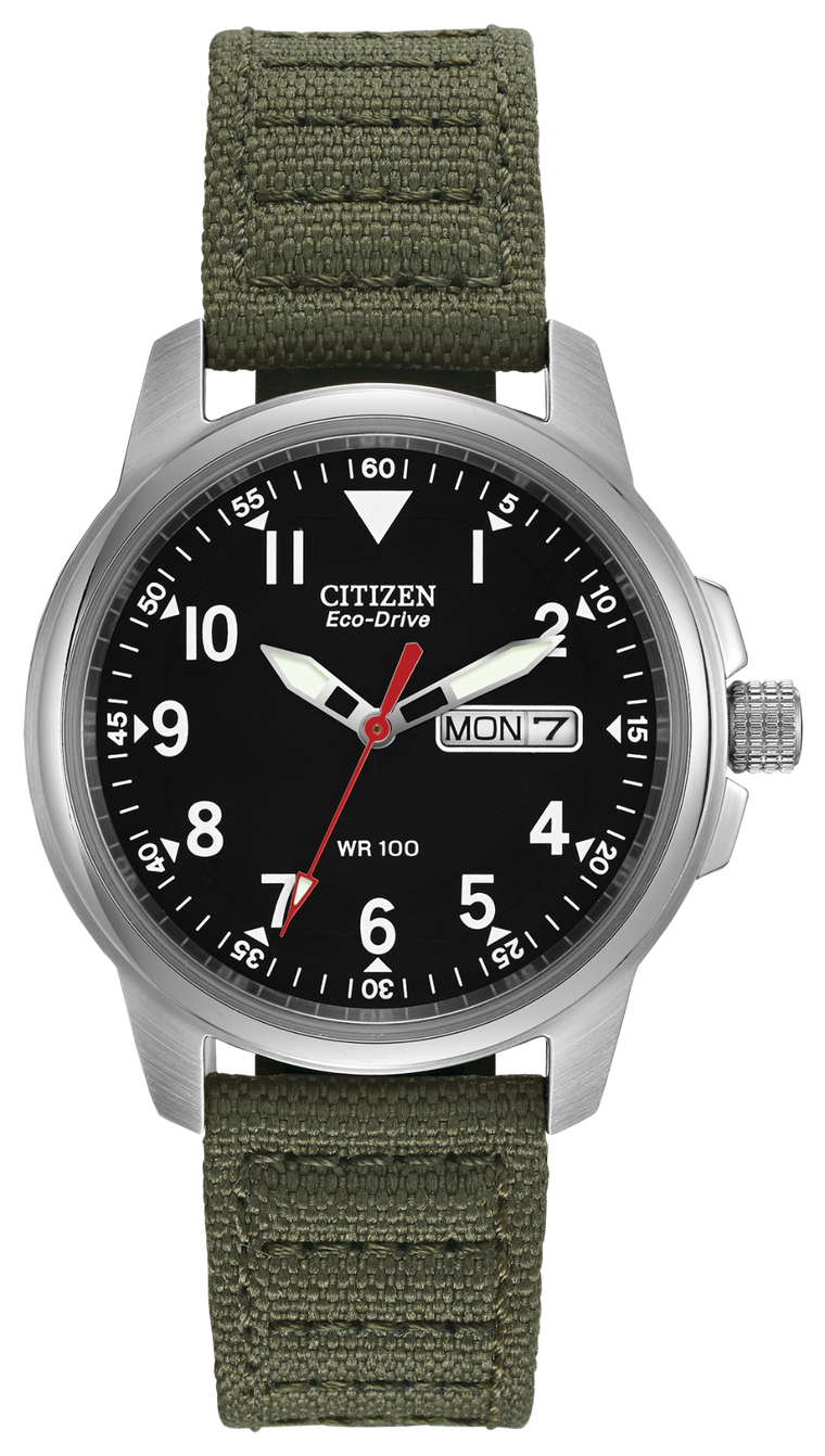 Citizen Chandler 37mm Watch with Black Dial
