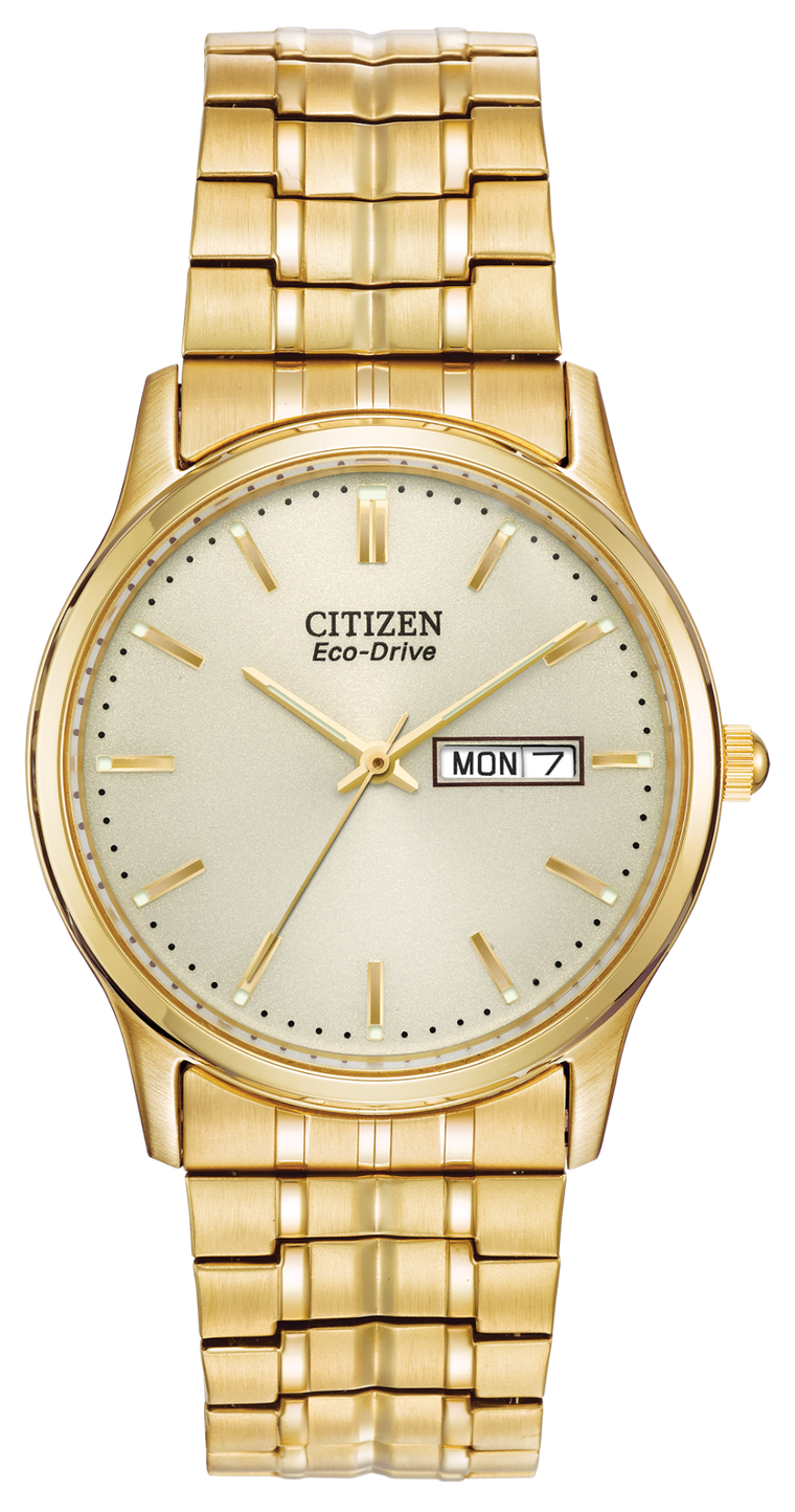 Citizen Corso 36mm Watch with Champagne Dial