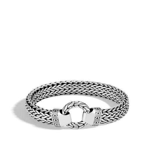 John Hardy Sterling Silver Classic Chain Ring Clasp Bracelet