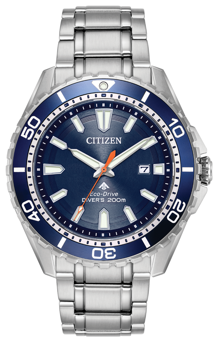Citizen Promaster Diver 45mm Watch with Blue Dial