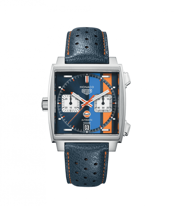 TAG Heuer 'Monaco' 39mm Special Edition Gulf Watch