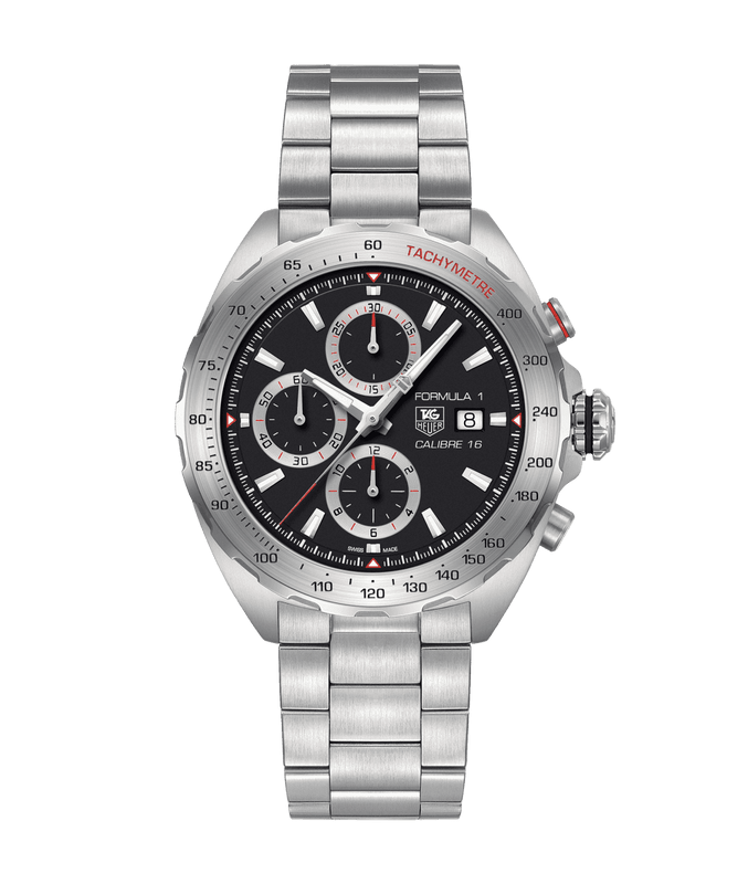 TAG Heuer Formula 1 44mm Watch with Black Dial