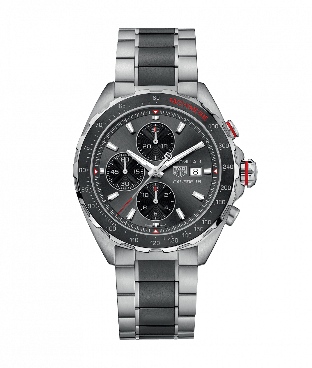 TAG Heuer 'Formula 1' 44mm with Grey Dial