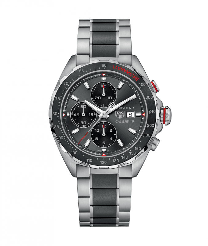 TAG Heuer Formula 1 44mm Watch with Grey Dial