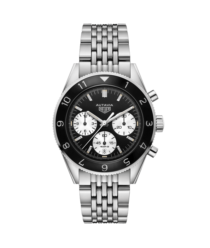 TAG Heuer 'Autavia Heritage' 42mm Watch with Black Dial