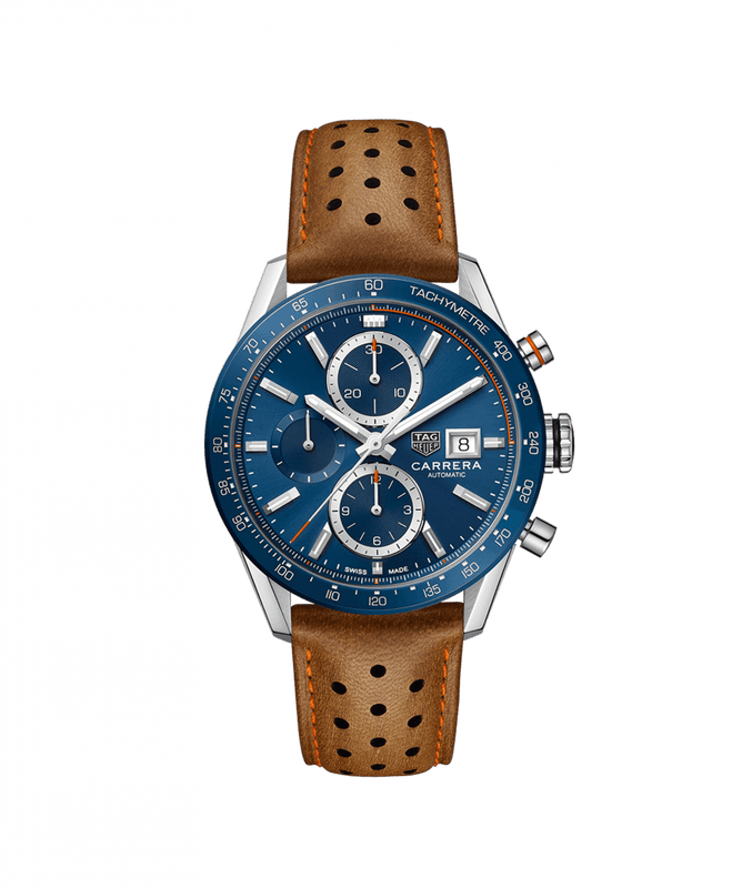 TAG Heuer 'Carrera' Automatic Chronograph Watch