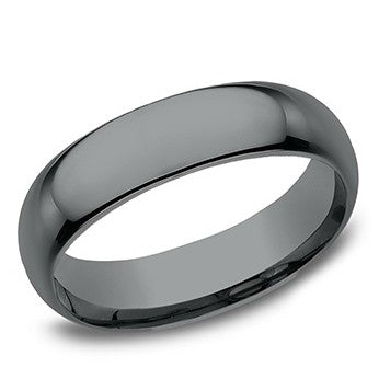 Benchmark 6.5mm High Polish Tantalum Wedding Band