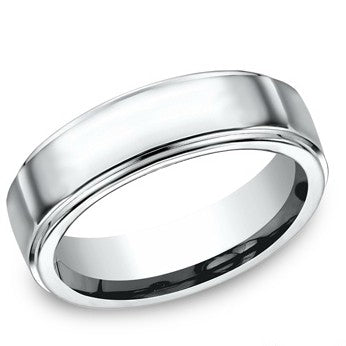 Benchmark 7mm Colbalt High Polish Wedding Band