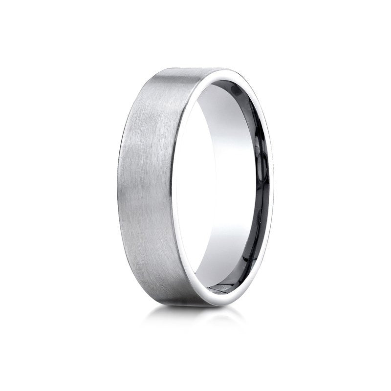 Benchmark 6mm Satin Spin Finish Wedding Band