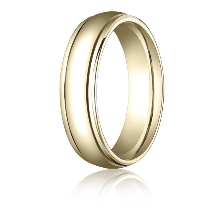 Benchmark 6mm High Polish Wedding Band