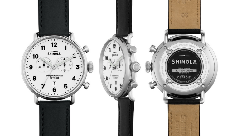 Shinola 'The Canfield' - Chrono 43mm Watch
