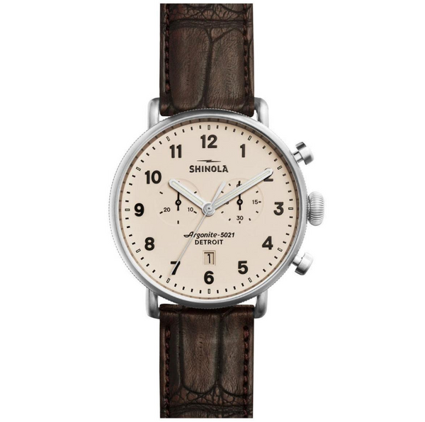 The Canfield - Chrono 43mm Shinola Watch