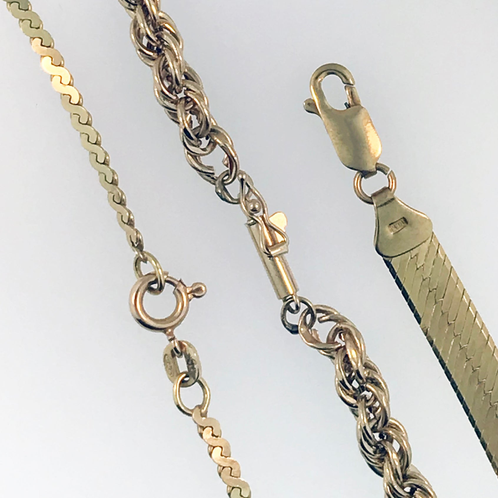 Brent L. Miller offers a variety of services in order to adequately repair any chain component of your jewelry.