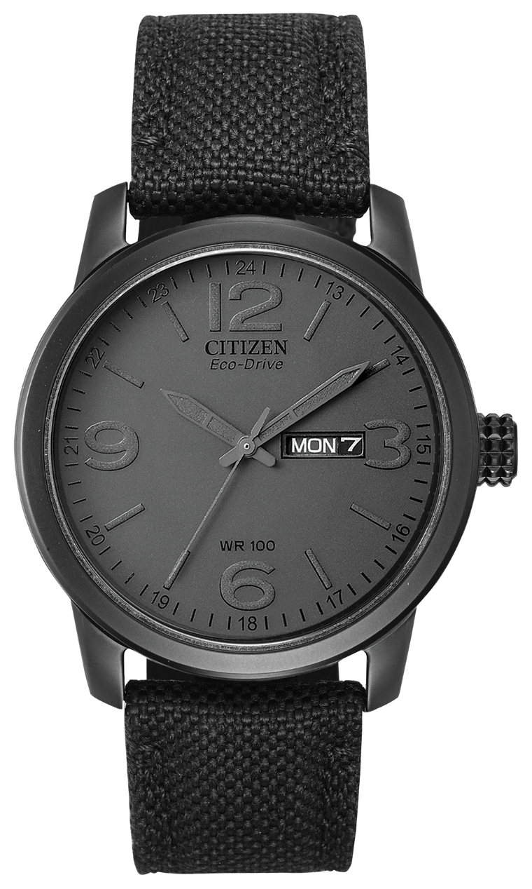 Citizen Chandler 42mm Watch with Black Dial