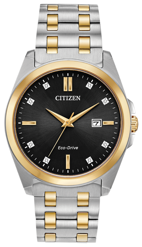 Citizen Corso 41mm Watch with Black Dial