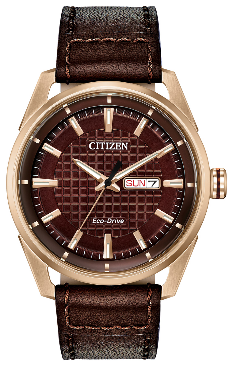 Citizen Drive 42mm Watch with Brown Dial