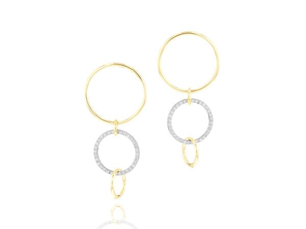 Phillips House Interlocking Affair Loop Drop Earrings