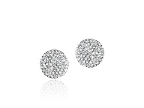 Phillips House Diamond Infinity Stud Earrings