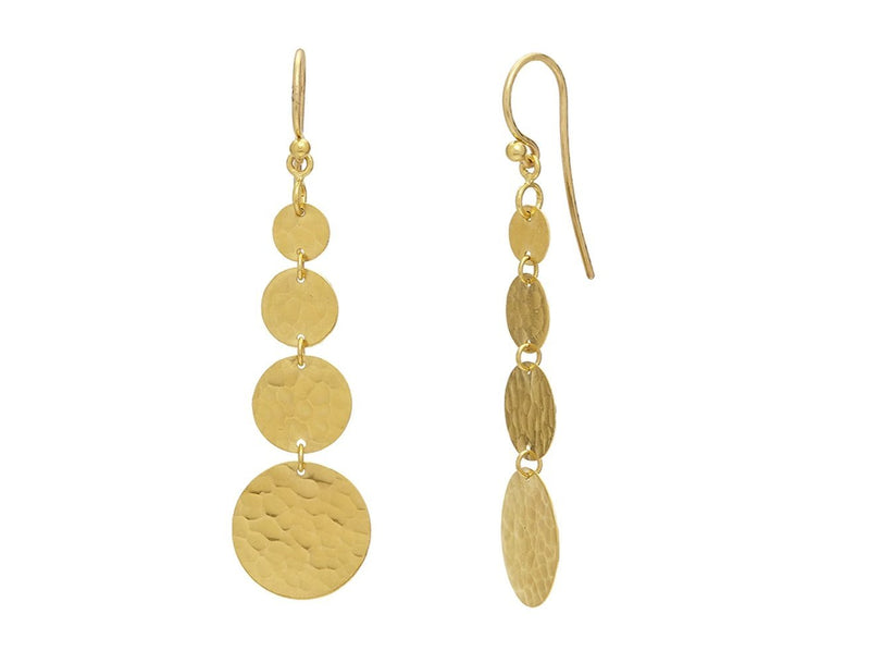 GURHAN Lush Flake Drop Earrings