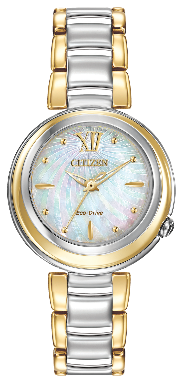 Citizen L Sunrise 30mm Watch with Mother of Pearl Dial